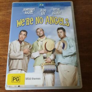We're No Angels DVD R4 Like New! FREE POST