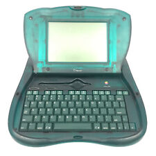 Vintage Apple Newton eMate 300 PDA Translucent Green H0208 UNTESTED AS IS PARTS