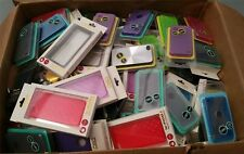 WHOLESALE LOT OF 50 CELL PHONE CASES AND ACCESSORIES!!! US SELLER!!