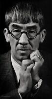 1934 Vintage Tsuguharu Foujita Japanese Artist BY ANSEL ADAMS Portrait Photo Art
