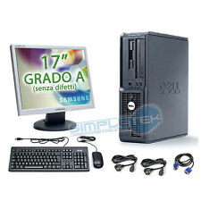 "POSTAZIONE COMPLETA DELL, WINDOWS XP ORIGINALE, PENTIUM 4 + LCD 17"" + KIT+ CAVI"