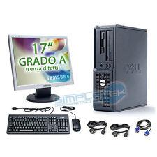 """POSTAZIONE COMPLETA DELL, WINDOWS XP ORIGINALE, PENTIUM 4 + LCD 17"""" + KIT+ CAVI"""