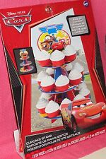 Cars,Ligtening McQueen Cupcake/Treat Stand,Cardboard,Wilton,1512-6405,Red,Mater