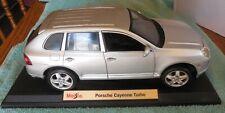 MAISTO DIE CAST 1/18 SCALE PORSCHE CAYENNE TURBO  CAR