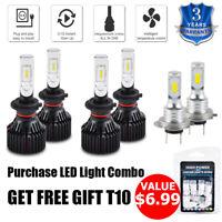 For Benz ML350 2006-2007 6x Combo H7 LED Headlight & Fog Light White Bulbs Kit
