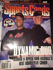 SportsCards Magazine Aug 1996 CAL RIPKEN JR,ROBERTO ALOMAR ORIOLES DYNAMIC DUO