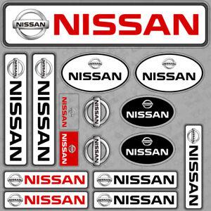 For Nissan Sport Car Sticker 3D Decal Stripes Logo Interior Decoration Gift