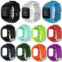 Für Polar A300 Silikon Armband Uhrenarmbänder Ersatz Strap Edelstahl Schnalle