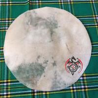 "SD Calf Skin Drum Head Banjo Snare Drums Djembe Tambourine Irish Bodhran 12"""