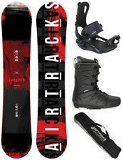 Set de Snowboard AIRTRACKS Huit Rocker+Fixation Master+Bottes + Sac 150 155 160