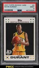 2007 Topps Basketball Kevin Durant ROOKIE RC #2 PSA 9 MINT