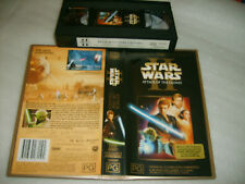 *STAR WARS II - ATTACK OF THE CLONES* Australian VHS as new ###CLEARANCE SALE###