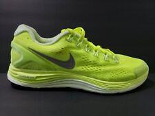 a0103d42e118 Nike Lunar Glide 4 Mens Size 9 Running Shoes Reflective Silver Volt 524977  707