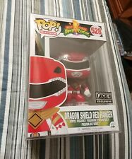 Red Ranger (Dragon Shield) Funko Pop With Pop Protector