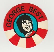 BAB Products 1970 Unused Sticker George Best Manchester United Northern Ireland