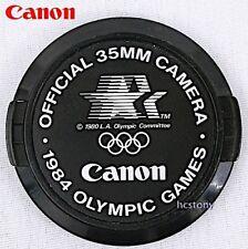 Vintage GENUINE CANON 52mm EOS~EF FD Lens Cap 1984 OLYMPICS Logo Los Angeles!