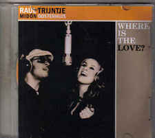 Trijntje Oosterhuis&Raul Midon-Where Is The Love Promo cd single