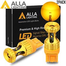 Alla Lighting 7440NA ZES Amber LED Turn Signal Light Bulb,Directional Blinker