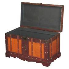 Wooden Antique Style Trunks and Chests