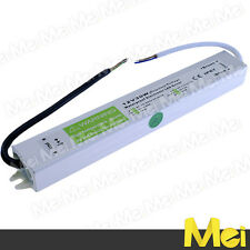 I003 Alimentatore stabilizzato 12 volt  2.5 A  30 watt ad uso eserno IP67