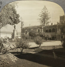 Keystone Stereoview the Palace of Cortez in Mexico From Rare 1200 Card Set # 89