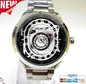 MAZDA Rx7 13b Turbo Rotary Engine Fd3s Sport Unisex Watches FREE Shipping