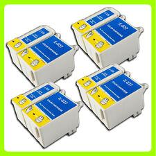8 ink Cartridges Replace for Epson Stylus C44 C44+ C44UX C46 C42 Printer