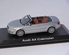 Audi A4 Cabriolet, Argent métallisé, 1:43, NOREV
