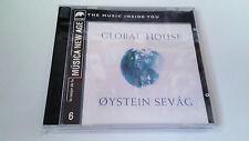 "OYSTEIN SEVAG ""GLOBAL HOUSE"" CD 12 TRACKS COMO NUEVO"
