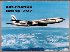CARTE POSTALE - BOEING 707 - LONG COURRIER -  AIR FRANCE