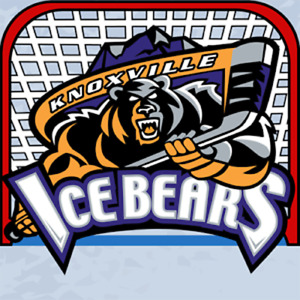 Knoxville Ice Bears SPHL Hockey Embroidered Adult T-Shirt S-6XL, LT-4XLT New