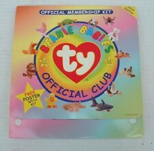 TY Beanie Babies 1st Edition Official Membership Kit Official Club