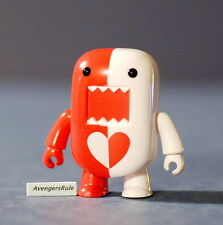 Domo Qee Series 5 Red White Love Heart 2/15 Rarity