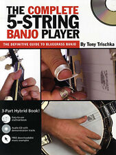 Learn The Complete 5 String Banjo Player Music Book CD