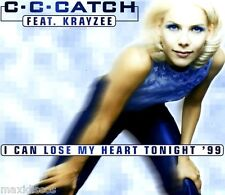 CDS - C.C.Catch Feat. Krayzee - I Can Lose My Heart Tonight '99 (EURO BEAT) MINT