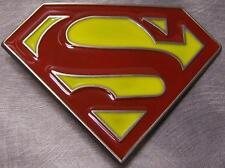 Pewter Belt Buckle Cartoon Superhero Superman NEW