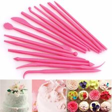 14Pcs Cake Modelling Mold Tools Set Fondant Clay Cutter Carve Pen Mould Tool