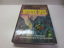 Alfred Hitchcock's Sinister Spies Random House vintage 1966 hardcover