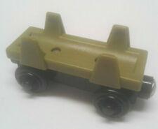 Thomas & Friends wooden Train Log Car Green Magnetic