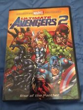 TX1- Ultimate Avengers 2: Rise of the Panther (DVD, 2006)