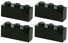 Missing Lego Brick 3622 Black x 4 Brick 1 x 3