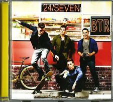 BIG TIME RUSH - 24 SEVEN  -  CD  NUOVO SIGILLATO