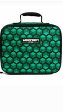 Minecraft Creeper Back To School LUNCH KIT BOX BAG Insulated Single Compartment