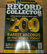 Record Collector magazine Oct '21 200 rarest records in the world +Charlie Watts
