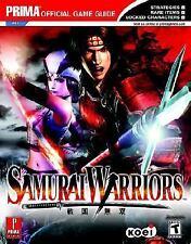 Samurai Warriors Elliott Chin, Mark Cohen Prima Guide