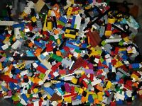 2 Lb Bulk Lot of Assorted Loose LEGO Pieces Bricks + Free Priority Shipping!