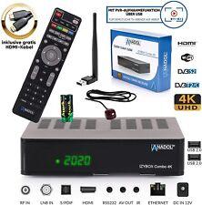 Sat Receiver 4k PVR Ready mit Aufnahmefunktion IZYBOX DVB-S2 DVB-C HDMI WLAN