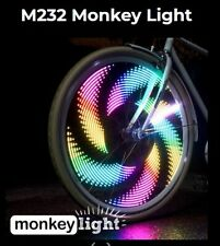 Monkey Lectric Bicicleta Luces. 32 diferentes patrones de impresionante para sus ruedas.