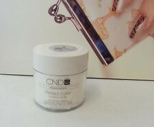 3.7oz CND CREATIVE Perfect Color Acrylic Powder PURE WHITE Opaque / French nails
