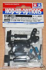 Tamiya 54556 TT-02B FRP Front Damper Stay Set (Neo Scorcher/TT02B/TT02B-MS) NIP